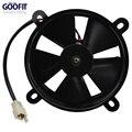 GOOFIT 12 В DC Вентилятор Охлаждения Радиатора для Водяным охлаждением ATV Quad Go-kart 200cc 250cc Черный F038-016