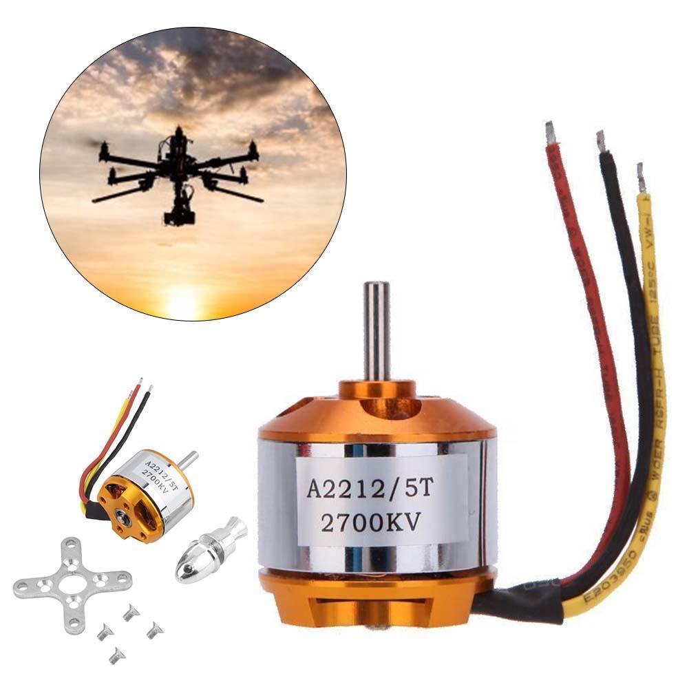 1x A2212 2700Kv Brushless Outrunner Motor For Airplane Aircraft Quadcopter RC brushless motors rc hobby store STA 2017 dxf sunnysky x2206 1500kv 1900kv outrunner brushless motor 2206 for rc quadcopter multicopter