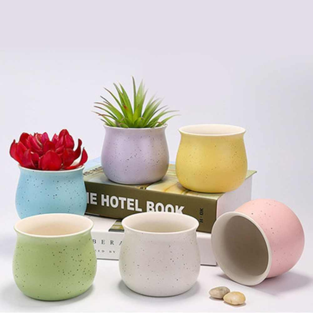 Keramiek Vetplant Potten Mini Plant Bonsai Bloemen Planter Container Vetplanten Cactus Venster Doos Trog Pot Ideaal Decor