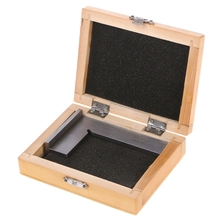 100*70mm Machinist Try Square DIN 875 / 0 grade 90 Degree Flat Edge Square with Base LS'D Tool