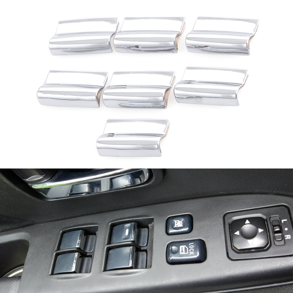 VCiiC Car Windows lift switch button sticker door cover
