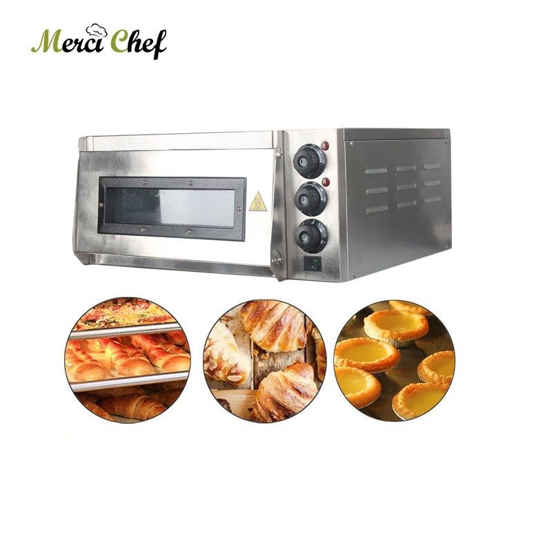 220 V acier inoxydable électrique four à Pizza gâteau cuisine cuisson Machine traitement rôti poulet Pizza cuiseur appareils intelligents