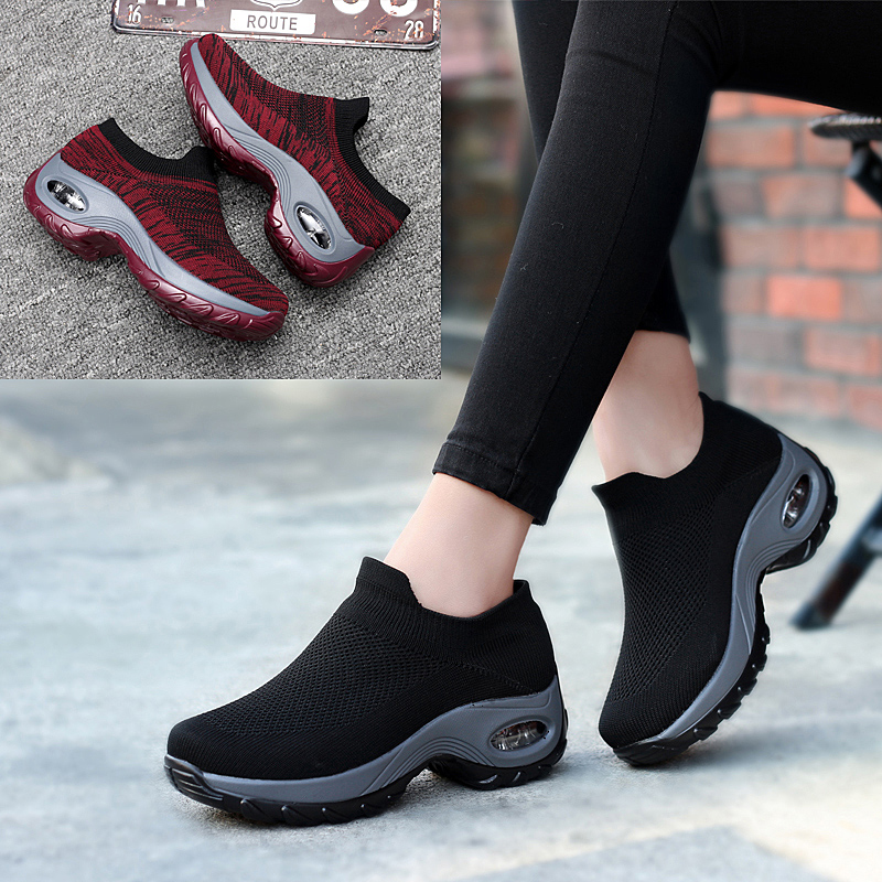 2019 New High Quality Women Tennis Shoes Air Mesh Breathable Light Female Sneakers Gym Tenis Feminino Fitness Trainers Cheap
