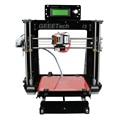 Geeetech Prusa I3 3D Printer Kits 8mm Acrylic Frame Desktop Reprap MK8 Extruder LCD2004 Free Black