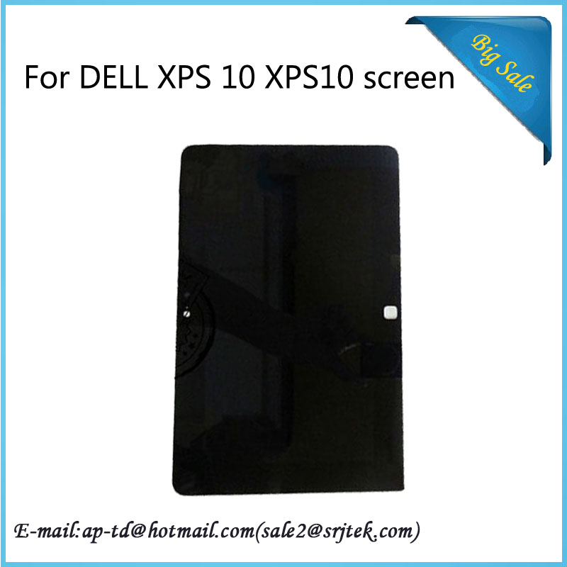 10.1'' For DELL XPS 10 XPS10 CNTablet PC Full LCD Display Panel Touch Screen Digitizer Assembly Replacement Parts+Free Shipping wholesale 10 1 for dell xps 10 xps10 cn