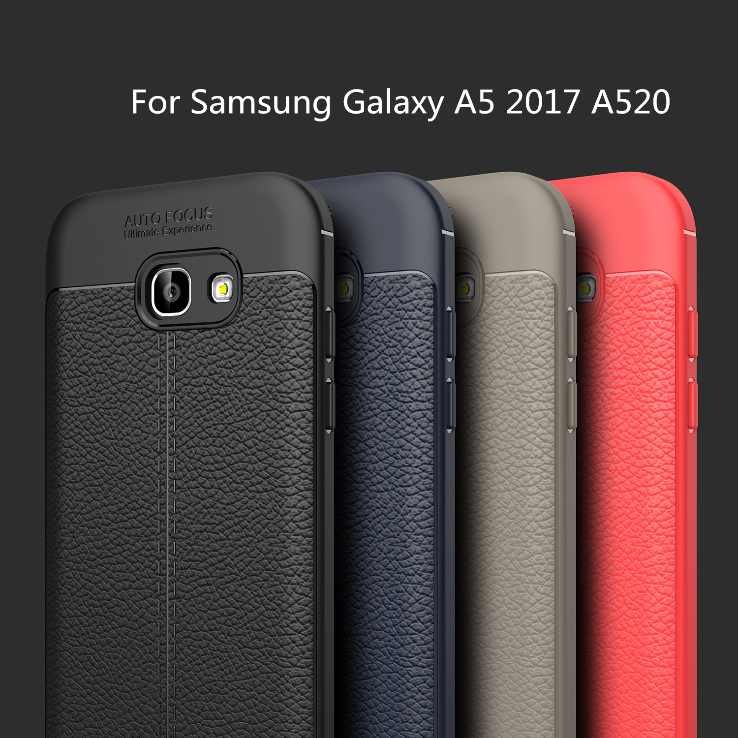 Cover For Samsung Galaxy A5 2017 Case Silicone Cover Hoesje Phone Case Bumper For Samsung Galaxy A5 2017 Leather Case Funda A520 image