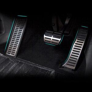 Image 5 - Автоматическая/ручная педаль DSG AT/MT из нержавеющей стали, включает в себя подножку + тормоз + педаль газа для Volkswagen VW Passat B6 B7 CC