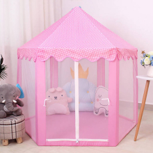 Детская игрушечная палатка, портативная складная палатка принцессы принца, детский замок, игровой домик, детский подарок, уличная Пляжная палатка на молнии, подарки для девочек