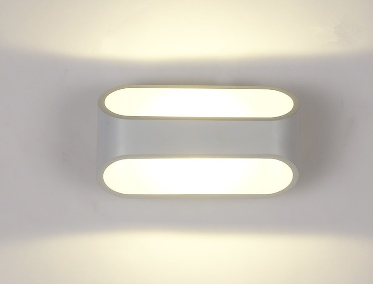 Aliexpress Buy 5W LED Wall Lamp Minimalist Sconce Aluminum Bathroom Mirror Lights Modern Bedroom Light From Reliable Years Lamps