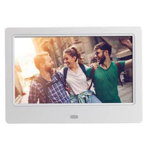 Digital-Photo-Frame Lcd-Screen Portable 7inch HD Clock MP3 with Slideshow Mp3/mp4-Player