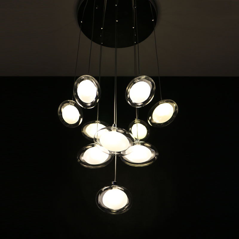 Wooden Lighting LED Chandelier Modern Simple Creative Atmosphere Art Dining Lights Lighting Bar Restaurant Dining Room Lights european restaurant crystal chandelier simple ball bedroom modern simple led creative living room lighting dining room
