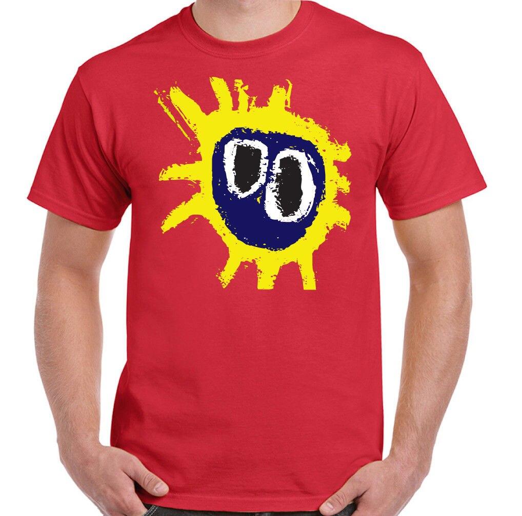 Primal Scream Screamadelica Mens   T  -  Shirt   Summer Men'S fashion Tee,Comfortable   t     shirt  ,Casual Short Sleeve TEE NEW ARRIVAL tees