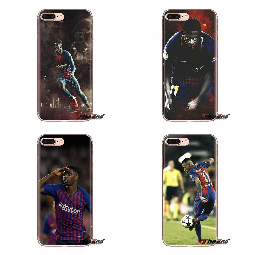 Para o iPod Touch Da Apple iPhone 4 4S 5 5S SE 5C 6 6S 7 8 X XR XS Mais MAX Ousmane Dembele 11 Macio Transparente Casos Covers