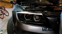 VLAND фабрика для автомобиля фара для BMW E90 светодиодный фар с ксеноновой спрятал объектив проектора и день