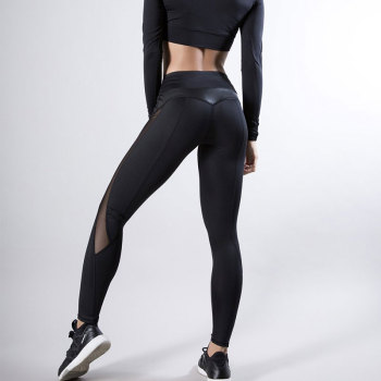 Grandwish Women Clothes for Fitness Yoga Pants Sports Wear Leggings Gym Workout Patchwork Black Running