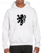 Paesi Bassi Leone Classico Retro Rugby Amsterdam Olanda Olandese di Calcio Degli Uomini Hoodies Sweatshirt