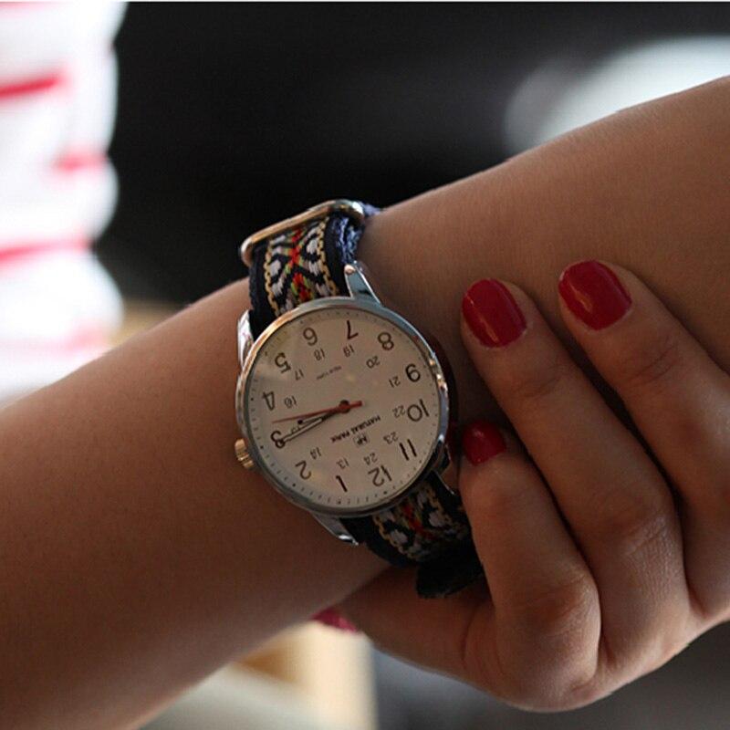 Korea Fashion Watch NATURAL PARK Top Brand Men Quartz Watches Nylon Strap Casual Simple Luxury Wristwatches 3atm