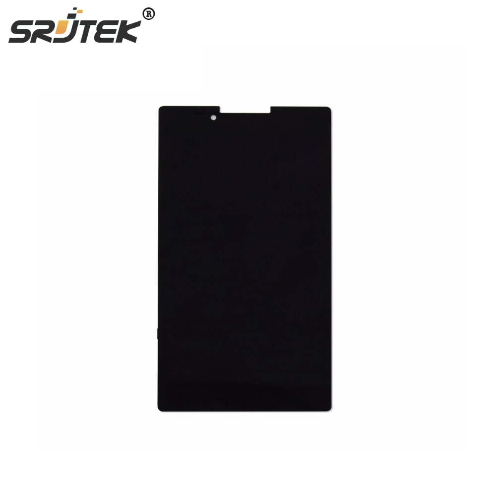 Srjtek Black Color 7 Inch For Lenovo Tab 2 A7 A7-30 LCD Display With Touch Screen Digitizer srjtek new 7 inch lcd display touch screen digitizer assembly replacements for lenovo tab 2 a7 10 a7 10f free shipping