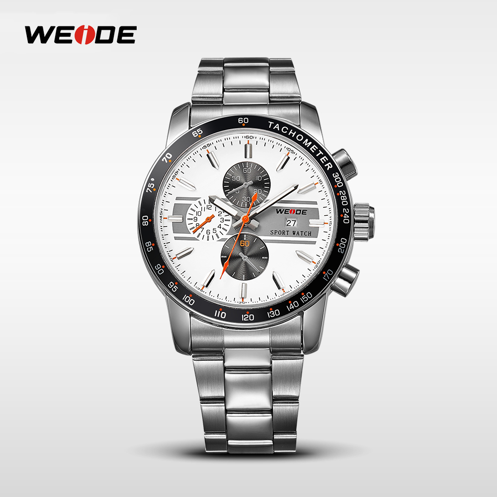 WEIDE Brand Men Quartz Watches Luxury Sport Watch Fashion Military High Quality Wristwatches Relogio Masculino Clock Hour WH3313 weide brand men big dial luxury watch male sport watches complete calendar waterproof man clock military style relogio masculino