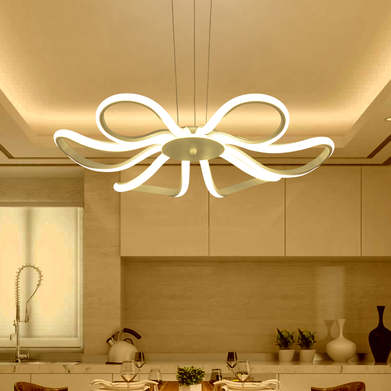 Free Shipping 2017 New Modern Pendant lights for Living room Dining room Acrylic Aluminum body Hanging lamp LED Lighting Fixture полиэстер сатин proton ps4139 30мм 200м чёрный