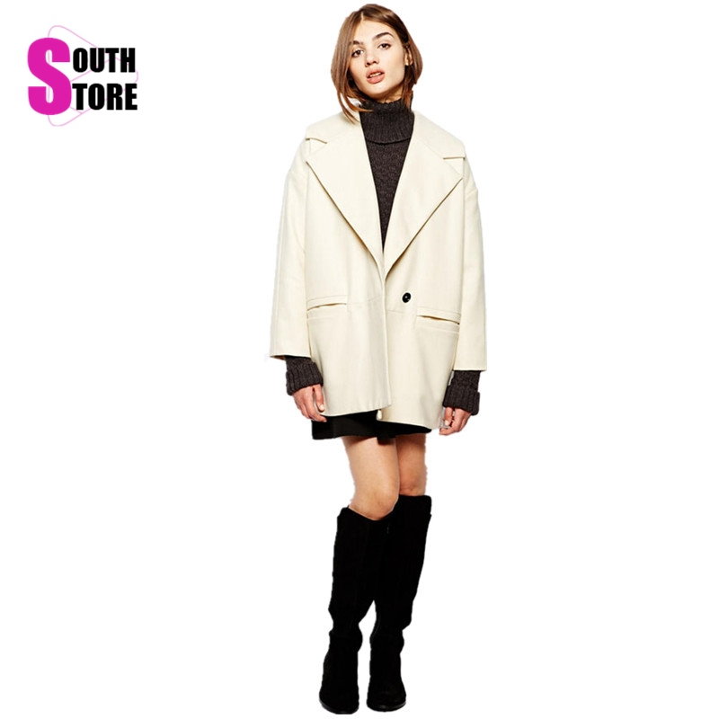 Ladies Cream Winter Coats - Coat Nj