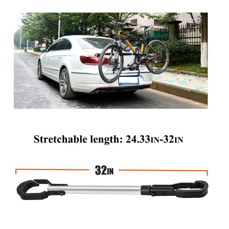 Cadre de vélo professionnel adaptateur de barre de montage de Tension adaptateur de cadre de vélo réglable universel pour le stockage en Rack
