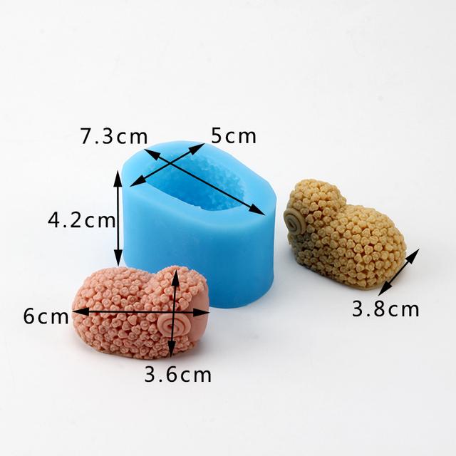 Sheep Silicone Mold for Handmade Soap