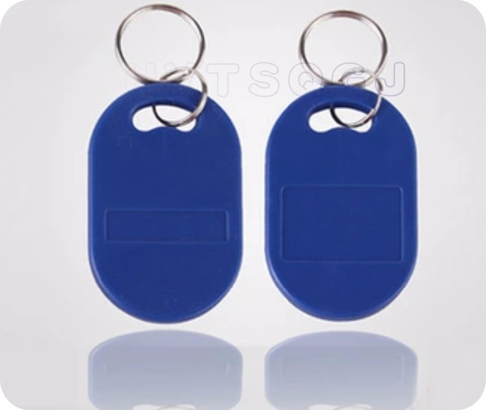 RFID dual frequency card 125KHz 13 56MHz S50 TK4100 Composite keyfobs