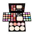25 Colors Face Contouring Makeup Palette Eyeshadow Lip Gloss Foundation Powder Blusher Puff Face Care Cosmetics Kits Makeup Set