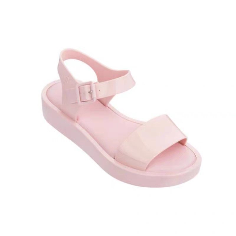 Melissa Shoes 2019 Women Flat Sandals Brand Melissa Shoes For Women Jelly Sandals Female Jelly Shoes
