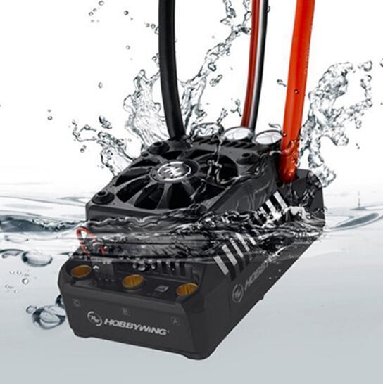 Hobbywing EzRun Max6 V3/Max5 V3/SCT MAX10 160A/200A/120A Brushless ESC Controlador de Velocidade À Prova D' Água para 1/6 1/5 RC Car