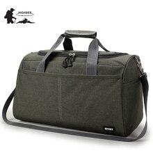 HIGHSEE Bag Gym Men Sport Fitness Bag Me