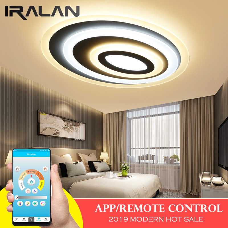 2019 Modern led ceiling lights for living/dining room bedroom solar system  ceiling lamp for home decoration lighting fixtures