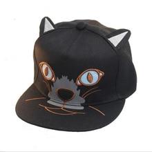 8d169c63770 oZyc New Fashion Women Sequins Cat Ear Baseball Cap Curved Brim Snapback  Hats Hip Hop Caps