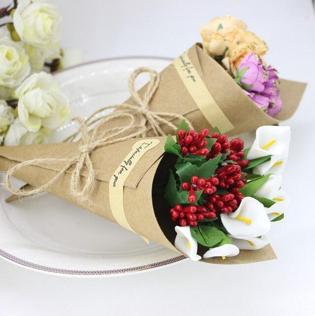 100 x wedding favors flower holder ice cream style diy kraft paper 100 x wedding favors flower holder ice cream style diy kraft paper cones candy boxes party mightylinksfo