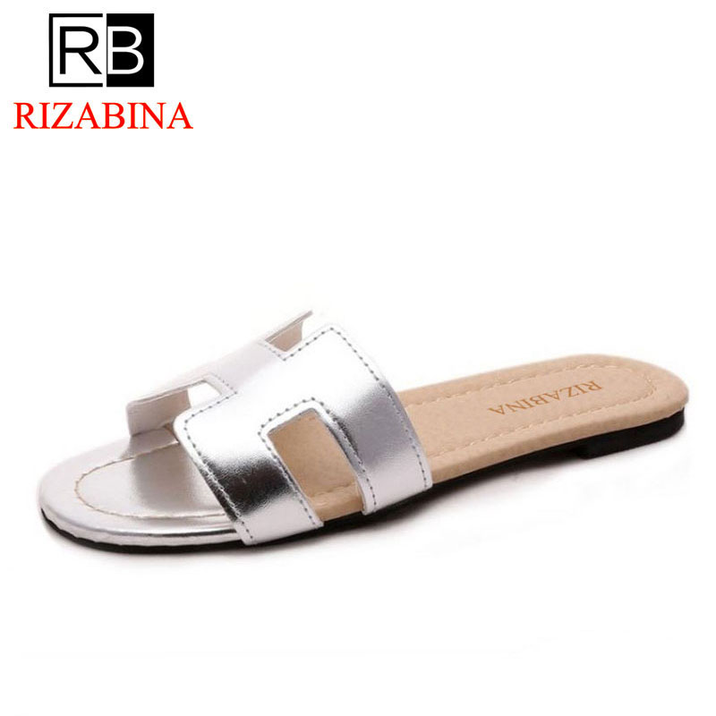 RizaBina arrival brand quality leisure women sandals slippers summer fashion shoes beach flip flops footwear size35-39 WD0138 new pattern brand quality leisure women sandals slippers summer fashion shoes beach flip flops women footwear size 36 40 wa0182
