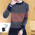 Men Sweater 2016 New Arrival Casual Solid O-Neck Basic Sweater Male Winter&Autumn Easy Match Sweaters M-5XL