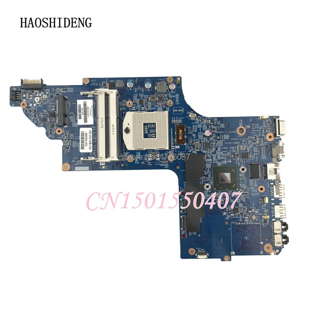 HAOSHIDENG 682043-501 682043-001 For HP pavilion DV7 DV7-7000 DV7-7300 series Laptop Motherboard,All functions fully Tested! laptop motherboard for dv7 7000 711509 001 711509 501 712183 501 system mainboard fully tested