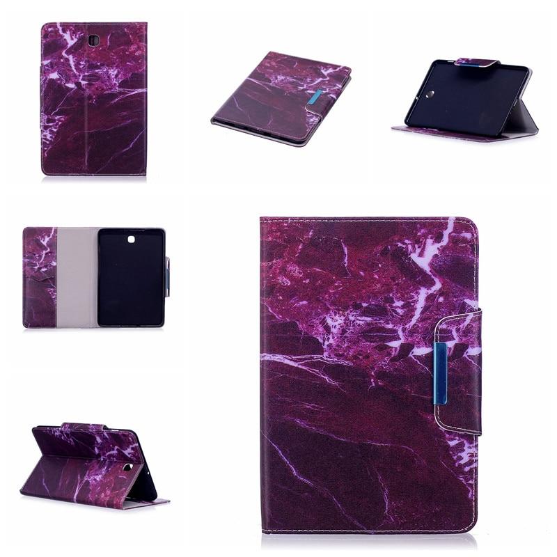 Case For Samsung Galaxy Tab S2 8.0 Inch T710 T715 Cute Cartoon Flamingo Unicorn PU Flip Leather Cover Case Fundas Capa