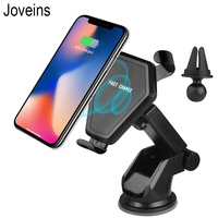 JOVEINS High Tech Design Car Phone Holder Wireless Charger For Samsung Galaxy Note 8 S8 S7 Note8 Phone Holder Charging Adapter