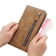 Brand Long Mens Wallet Slim Luxury Clutch MenBense Fashion High Quality Solid Phone Bag Leather Purse Card Holder Coin Pocket