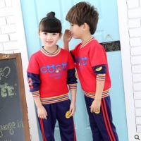 Boys and Girls School Uniforms Clothing Set 2018 Autumn Children 's Class Uniforms Primary and Secondary School Students ly128