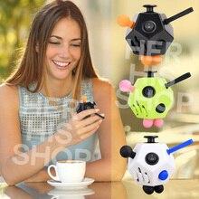 2017 Новый Fun Снятие Стресса Squeeze Подарки Непоседа Куб 2 Снимает Тревогу и Стресс Juguet Для Взрослых Fidgetcube Стол Спин