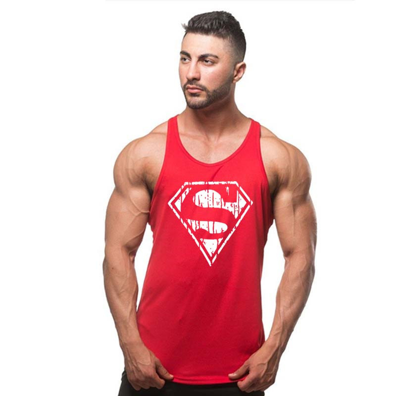 Fashion New Shirts Stretchy Sleeveless Casual   Tank     Top   Men's bodybuilding Fitness Vest vest TX97-An01-E