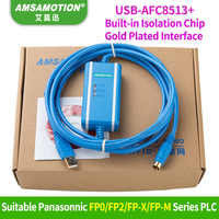 Amsamotion USB-AFC8513 Isoltaed Kabel Geschikt Panasonic FP0/FP2/FP-X/FP-M serie plc-programmering Kabel Downloaden Lijn