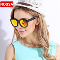 НОСА Новый Дизайн TR90 Поляризованные Солнцезащитные Очки Женщины мужская Полный Кадр Красочные Покрытия Солнцезащитные Очки