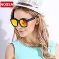 NOSSA New Design TR90 Polarized Sunglasses Women Men's Full Frame Colorful Coating Sun Glasses