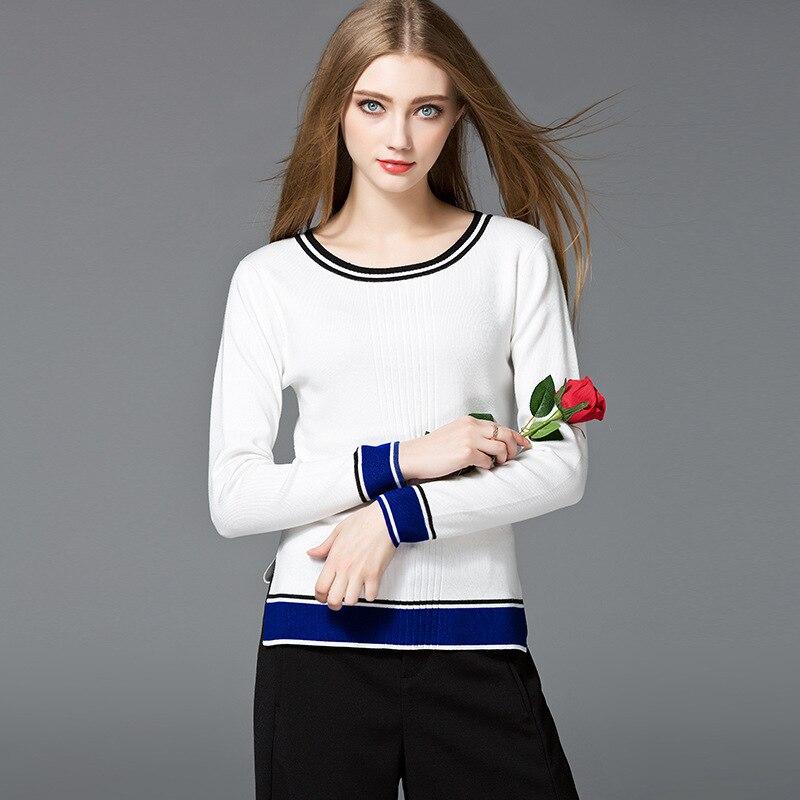 Estilo Americano europeo suéteres mujeres suéteres de alta calidad de la manera