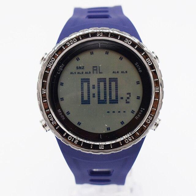 859ce9b3cbcb4 Bleu étanche poignet numérique automatique montres pour hommes digitais montre  de course hommes homme digitales horloge