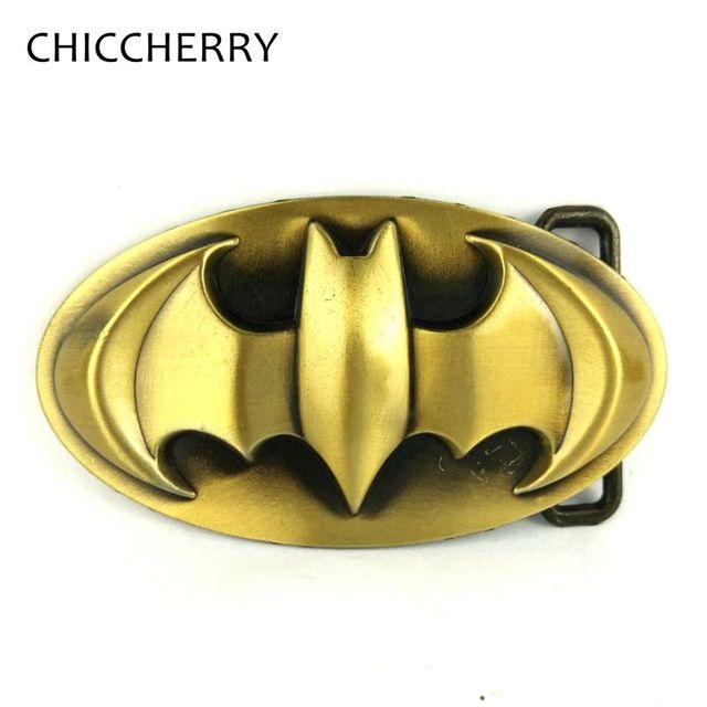 1eb2dd0d591 Vintage Solid Brass Batman Belt Buckles Male Accessories Gift Hebillas  Cinturon Boucle Ceinture Cowboy Fivela for Men Belts
